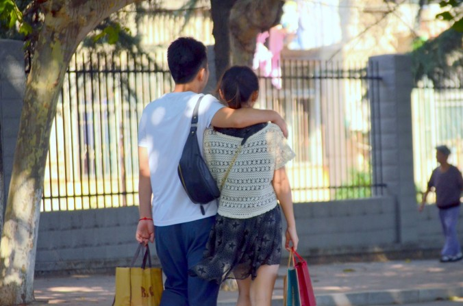young-couple-walking