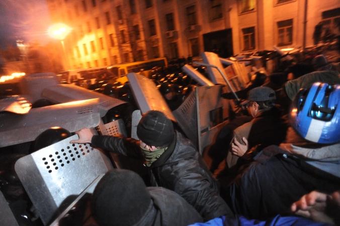 Ukrianian crisis, Ukraine news, Euromaidan, Kiev. Ukraine. Docum